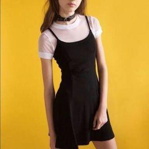 UNIF dolls kill black dress urban outfitters